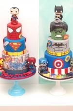 Lego_superheroes_cakes