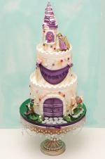 Rapunzel_castle_cake