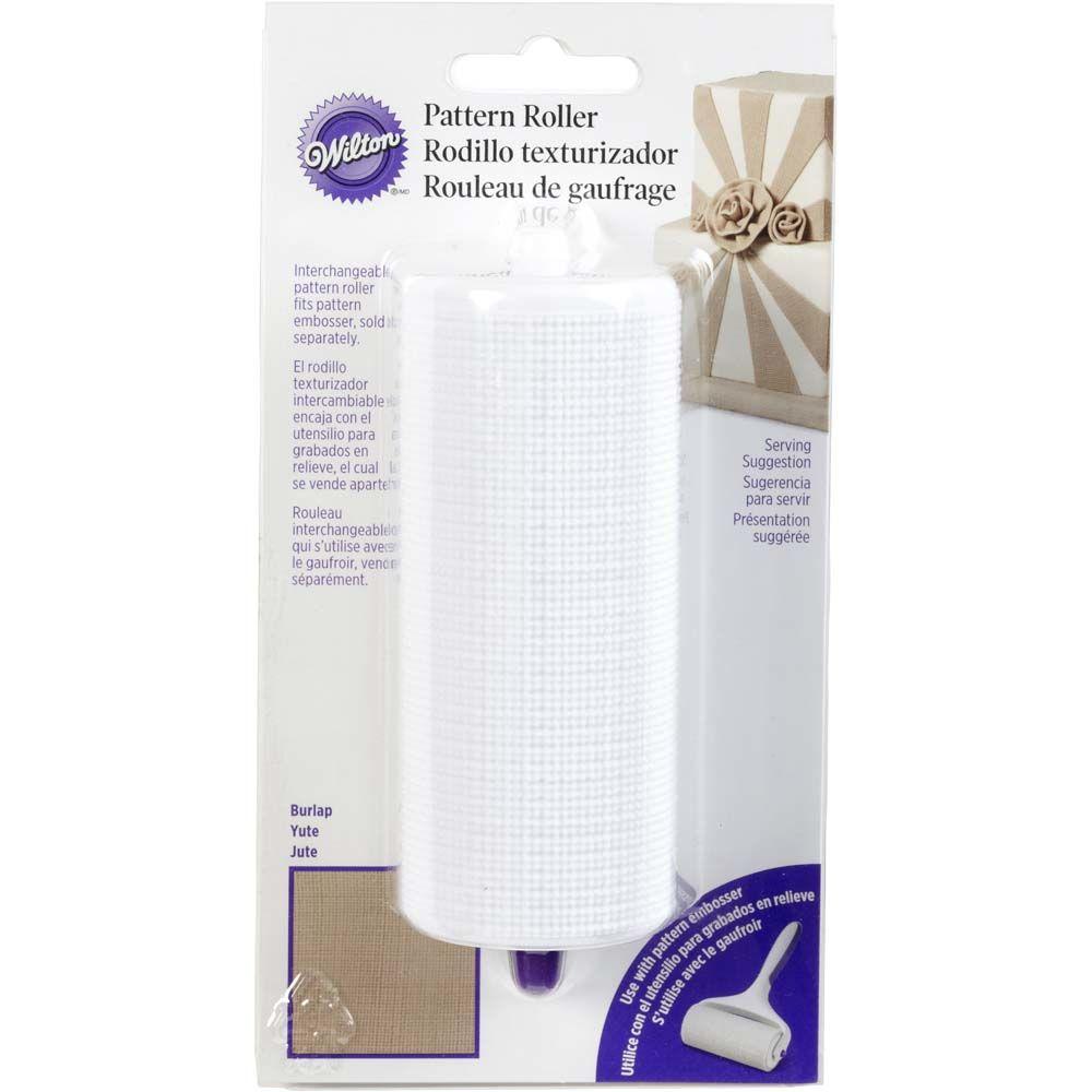 burlap-pattern-roller
