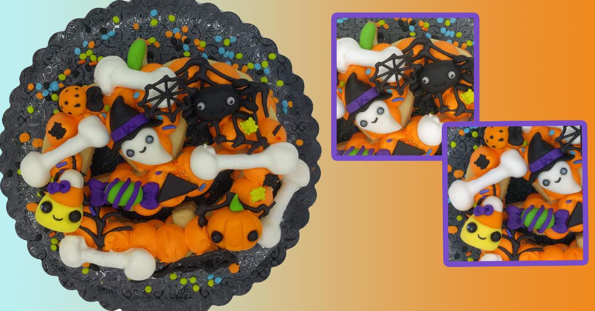 Halloween Jack O Lantern Cookie Cake Day Camp