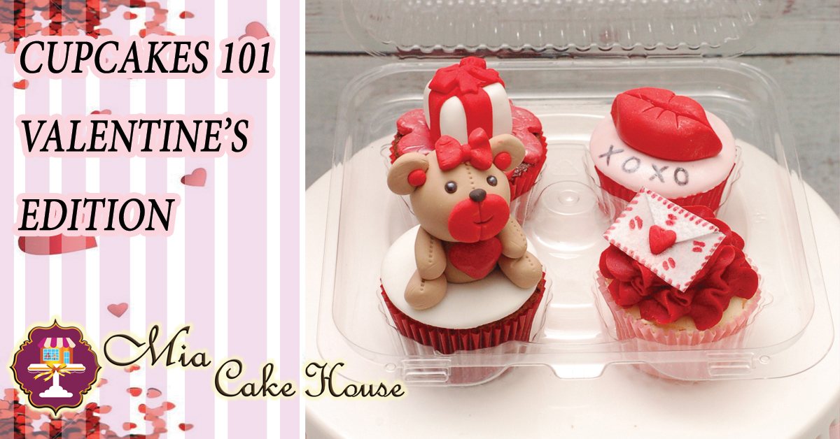 5-7pm: CUPCAKES 101 VALENTINE'S EDITION