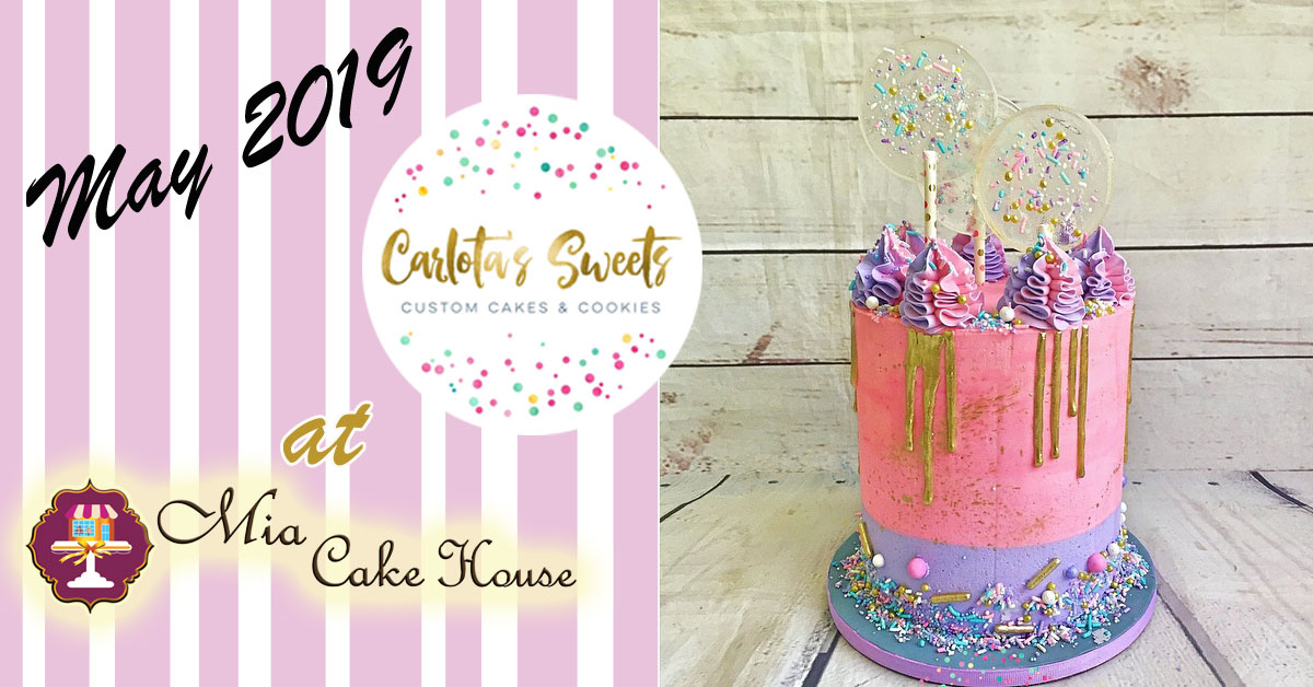 5-8:30pm: CELEBRATION CAKE WITH LOLLIPOPS CLASS