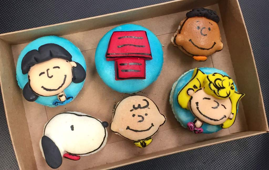 Charlie Brown French Macarons Day Camp