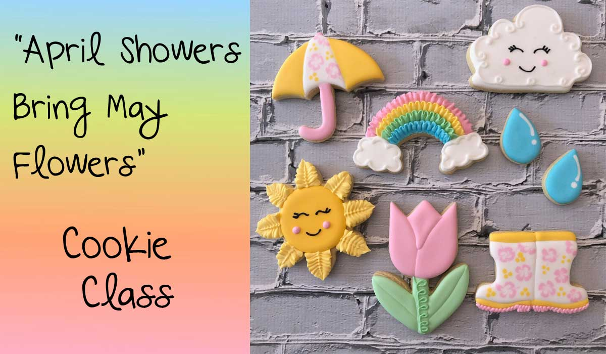 5-8:30PM: MAY FLOWERS COOKIE CLASS