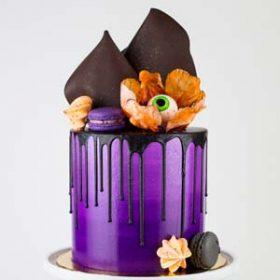 BLOODY EYE FLOWER CAKE