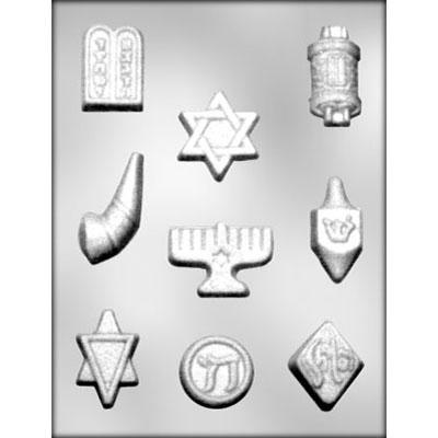 jewish-symbols-chocolate-mold