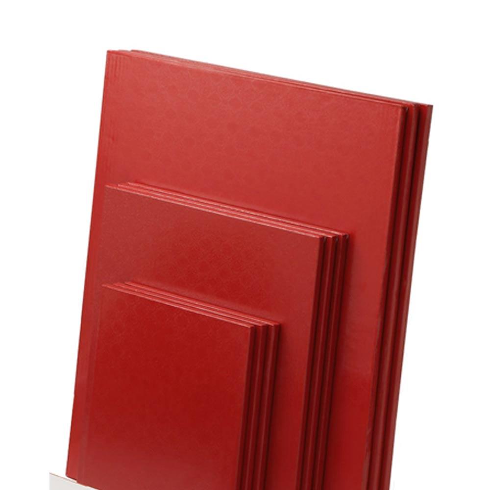red-half-sheet-cake-drum