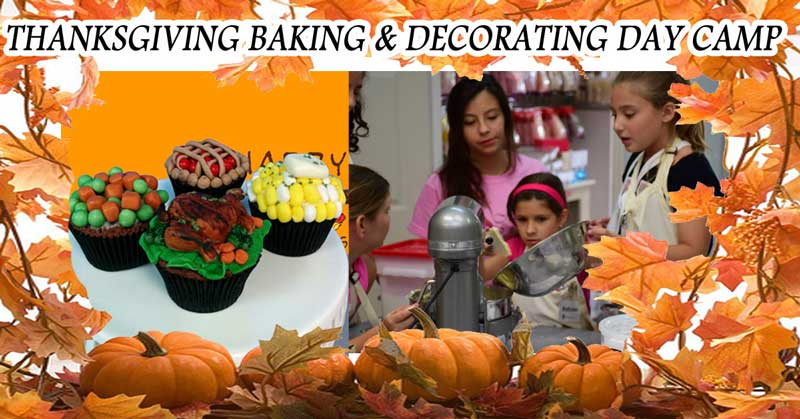 THANKSGIVING BAKING & DECORATING DAY CAMP