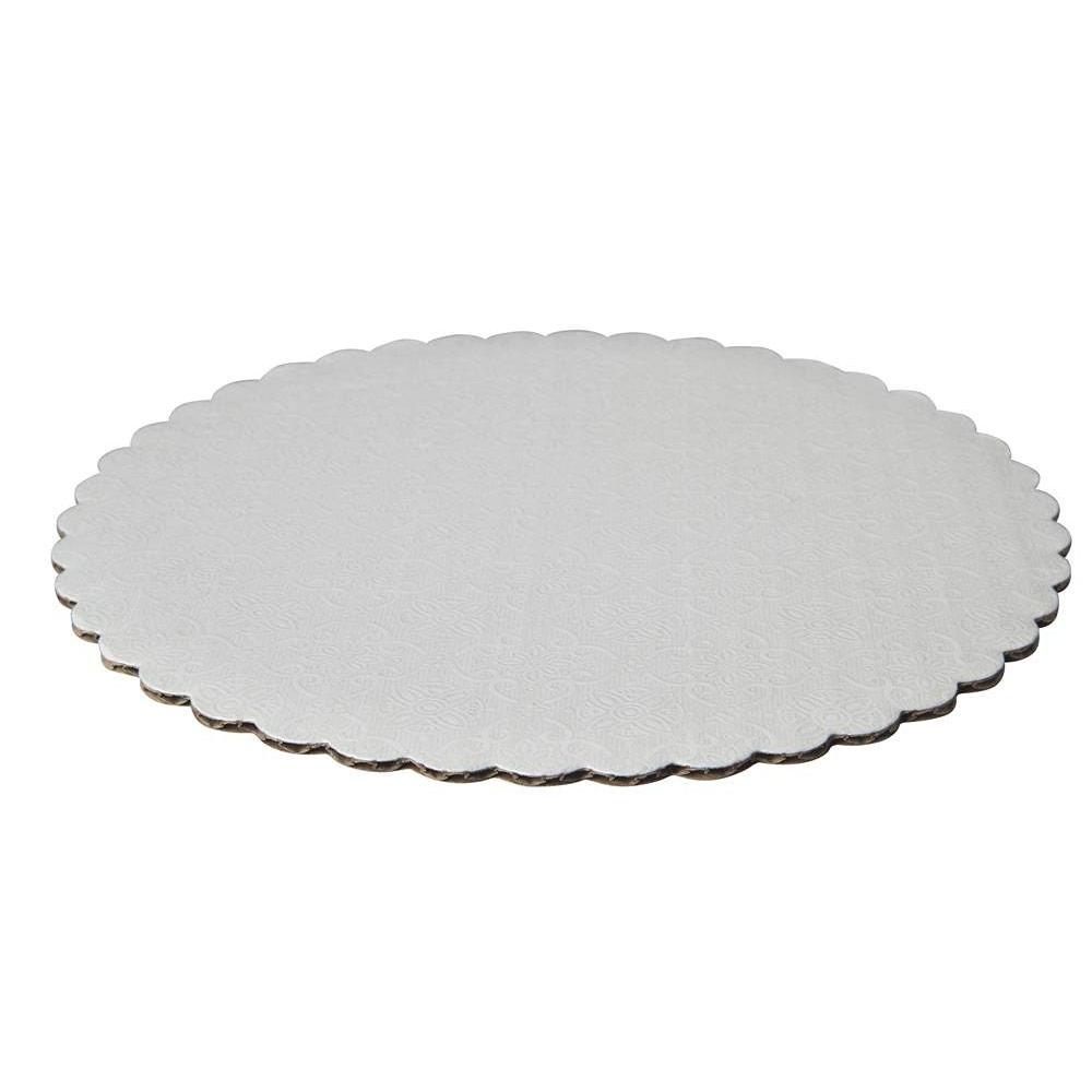 white-round-cake-circle-8-inches