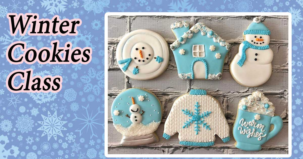 11am-2:30pm: WINTER COOKIE DECORATING